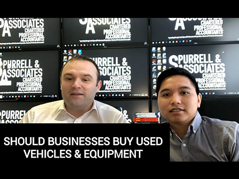 Should Businesses Buy Used Vehicles & Equipment