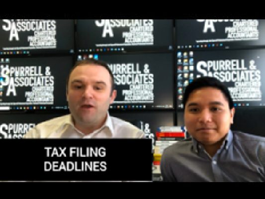 Tax Filing Deadlines
