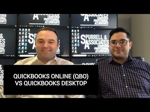 QuickBooks Online (QBO) Vs QuickBooks Desktop