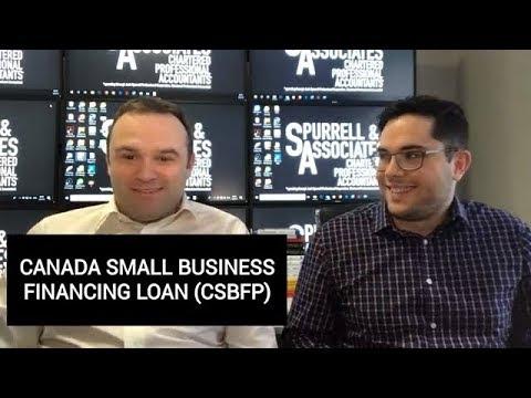 Canada Small Business Financing Loans (CSBFP)
