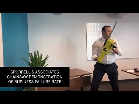 Chainsaw Demonstration Of Business Failure Rate