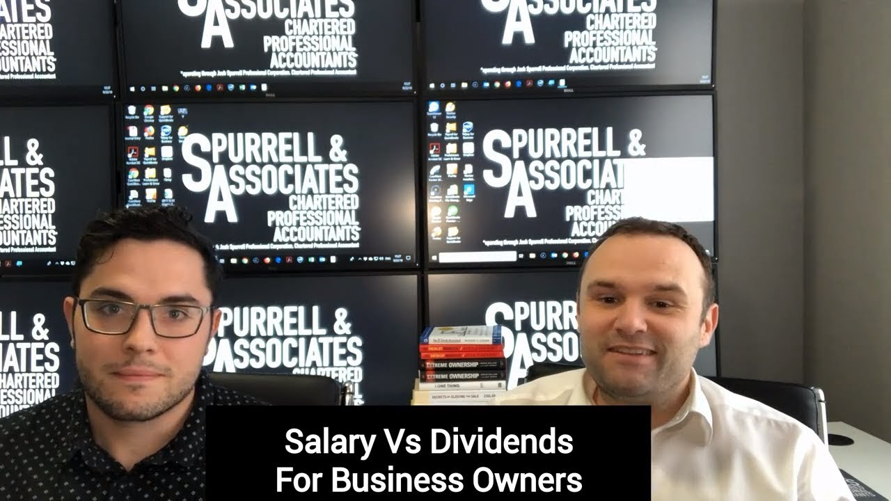 Salary Vs Dividends For Business Owners